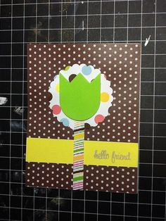 Set of 2 general purpose cardslets chat and hello by KCsCardShop, $5.00
