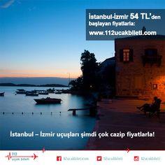 #İstanbul – #İzmir #uçuşları şimdi çok cazip fiyatlarla! #uçakbileti
