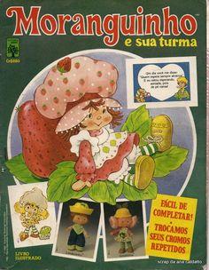 Ana Caldatto : album  Boneca Coleção Moranguinho