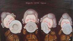 Купить Картина маслом . Серия картин Е. Гапчинской в столовую. - картина, картина маслом
