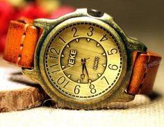 Mens Wristwatches Unisex Leather Wa..