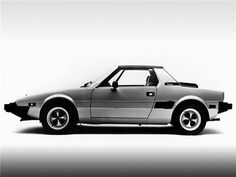 Fiat X Bertone. I so loved my Fiat back in the day! I ran out of mechanics who would work on her, so, sadly, we had to part ways. Fiat X19, Turin, Classic Sports Cars, Classic Cars, Automobile, Fiat 124 Spider, Fiat Abarth, Go Kart, Maserati