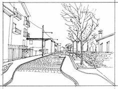 sketch, square