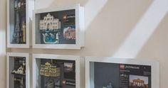 Construction Toys of the Year Lego Shelves, Lego Storage, Storage Ideas, Vitrine Lego, Gundam, Lego Display, Display Ideas, Arabic Pattern, Lego Star Wars