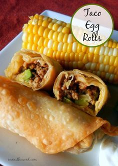 Taco Egg Rolls Regular