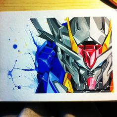 Gundam/  acrylic