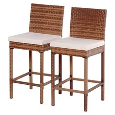 Discover the top wicker bar stools and furniture for your home. You can find beautiful bar stools to complete your wicker patio furniture bar set. Painting Wicker Furniture, Outdoor Wicker Patio Furniture, Wicker Couch, Wicker Headboard, Wicker Shelf, Wicker Bedroom, Wicker Table, Pool Furniture, Sunroom Furniture