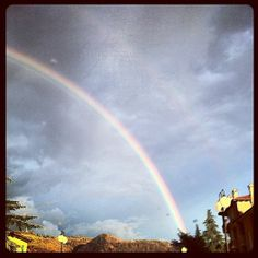 Arcobaleno a Casalecchio di Reno, Bologna...🌷❄
