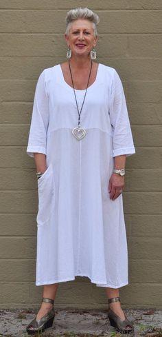 WATERSISTER Cotton Gauze FELICITY Dress Pocket 1(S/M) 2(L/XL) 3(2X+) 2017 COLORS   eBay