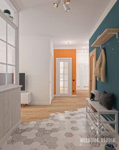 Furniture For Sale Online Code: 5898397537 Floor Design, House Design, Corridor Design, Decoration Entree, Attic Bedrooms, Farmhouse Remodel, Flat Ideas, Apartment Design, Kitchen Flooring