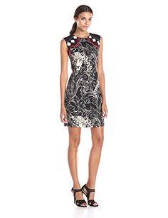 Nicole Miller Stalker Stretch Crepe Dress - http://www.womansindex.com/nicole-miller-stalker-stretch-crepe-dress/