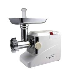 Megachef Kitchen Appliances MegaChef 1800 Watt High Quality Automatic Meat Grinder for Household Use Small Kitchen Appliances, Kitchen Aid Mixer, Kitchen Gadgets, Kitchen Small, Types Of Meat, Cord Storage, Specialty Appliances, Espresso Machine, Jars