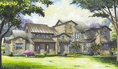Remarkable Hill Country House Plan - 67129GL | 1st Floor Master Suite, Butler Walk-in Pantry, CAD Available, Den-Office-Library-Study, European, Hill Country, Jack & Jill Bath, MBR Sitting Area, Media-Game-Home Theater, PDF, Split Bedrooms, Tuscan | Architectural Designs