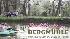 Stadtflucht Bergmühle Berg, Vienna, City, One Day