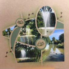 Punta Cana, Scrapbook Examples, Scrapbook Layouts, 4 Photos, Alcoholic Drinks, Projects To Try, Glass, Monuments, Stencil