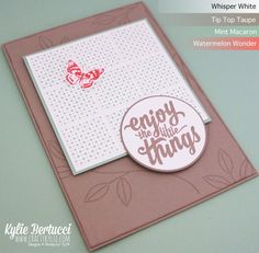 Stampin' Up! Australia: Kylie Bertucci Independent Demonstrator: Onstage Local and the NEW 2016 Occasions Catalogue