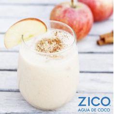 Agua de cocos verdes, manzana, canela... ¿Empieza bien verdad? ¡Pues sabe mucho mejor! Sigue los pasos para prepararte un delicioso smoothie de manzana y canela.