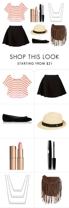 """A few summer days..."" by chrisantal ❤ liked on Polyvore featuring Rebecca Minkoff, Neil Barrett, Helen Kaminski, Charlotte Tilbury and Glamorous"