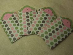 Items similar to Tag Piece Set of Very Pretty Polka Dotted Scrapbooking Tags and Pocket Tags on Etsy Handmade Tags, Mini Albums, Gift Tags, Card Stock, Stampin Up, My Etsy Shop, Polka Dots, Scrapbook, Pretty