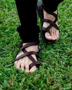 Sandalias de Gladiador de OM