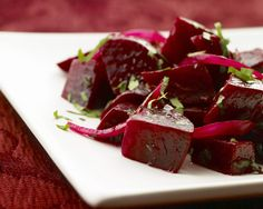 Sometimes, using a little help from the store can mean the difference between ordering takeout and making a home-cooked meal. The introduction of precooked fresh beets to the produce section is a boon to busy home cooks; no longer does anyone have to settle for canned beets when in a hurry. This ...