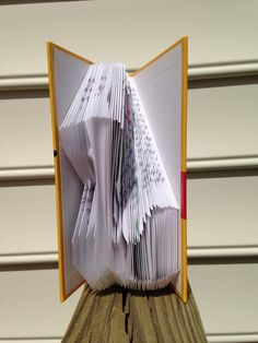 Folded Book-The Letter 'L' by KimmoCreations on Etsy