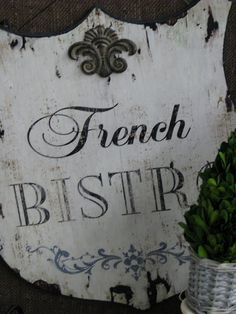 Chippy French Bistro sign