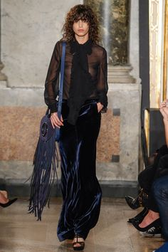 Emilio Pucci, Fall / Winter 2015 - 2016 Look #26 Mica Arganaraz , Milan Fashion Week 2015 , MFW - By Frey