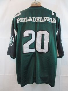 5BAC THE PRIDE SERIES RARE #20 PHILADELPHIA GREEN JERSEY STITCHED LETTERING 3XL #5BAC #Philadelphia