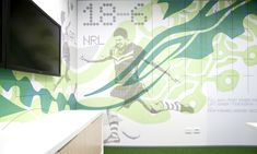 Wall Graphics, ASICS Australia, THERE Design