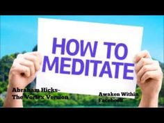Abraham Hicks~ Put your energy toward getting new energy started - YouTube