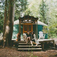 Livin that yurt life