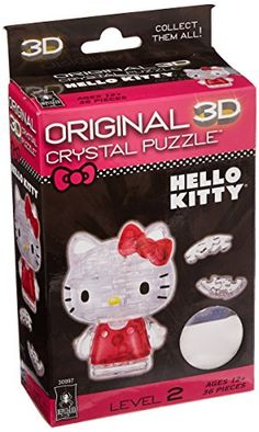 BePuzzled Hello Kitty Lovely Crystal…