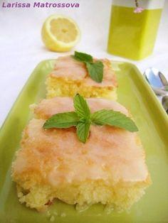 """Лимонный пирог """"Наивкуснейший"""" - кулинарный рецепт"""