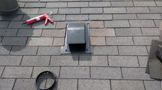 And in with a new none leaking roof mounted box vent.  #DCandR #DependabilityFirst #ProblemSolved