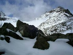 Snow @ the Equator.  Mt. Kenya