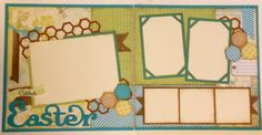April Layout - by Scrapbookers rock: March Scrap4Fun Layouts