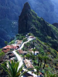 'Lost' Village of Masca, Tenerife, Canary Islands...spent a week on the Canary Islands on vacation.