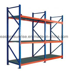 Heavy Duty Metal Steel Storage Racking/Rack for Warehouse, Model NO.: ES-081 Weight: 150-500kg Closed: Open Development: Conventional Serviceability: Common Use Name: Shelving Certificate: ISO Certificate Size: Customized Steel Thick: 0.5mm--2.0mm Color: Customized Loading Capacity: 50-1000kg Painting: Powder Coating Warranty: 5 Years Trademark: EASTERN SUNRISE Transport Package: Knock Down Flat Packing with Carton Specification: 2000x2000x500 Origin: China HS Code: 94032000, Port: Qingdao… Steel Storage Rack, Iron Storage, Steel Racks, Metal Rack, Steel Shelving, Shelving Racks, Rack Shelf, Display Shelves, Heavy Duty Racking