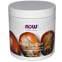 Now Foods, Shea Butter, 7 fl oz (207 ml) - iHerb.com