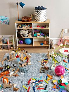 """5 Ways to manage mess  (one suggestion, make a toy library from which a certain number of toys can be """"checked out"""" at a time."""