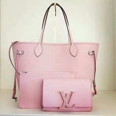 Soft pink purse
