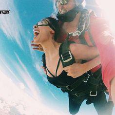 Descobrimos porque os passarinhos cantam!  Salto de Pará-Quedas com a Equipe Skydiver's de Arapongas.  #aventure #aventura #adventure #paraquedas #paraquedismo #esporteradical #lifestyle #profissaoaventura #ecoturismo #gopro #goprobrasil #vscobrasil #vsco #adrenalina #adrenalinapura #adrenalinatotal