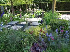 My favourite garden at Chelsea Flower Show. Review by garden designer from Borrowed Space. http://www.borrowedspace.co.uk