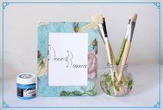 #decoupage #handmade #frames #photoframe #gifts #decorama