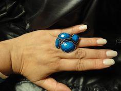 Blue/Silver Ring $5 Qty 1