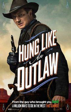 A Million Ways to Die in the West 11x17 Movie Poster (2014)