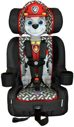 KidsEmbrace Paw Patrol Marshall Booster Car Seat By
