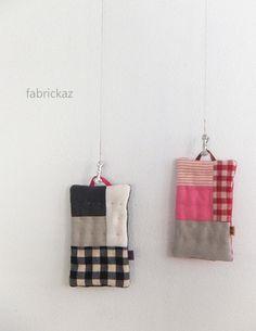 Pot holders - Japanese site - fabrickaz + idees