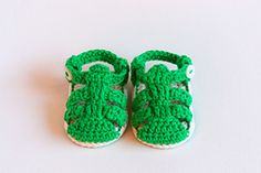 Ravelry: Strap Sandals - Crochet Baby Sandals Pattern pattern by Croby Patterns